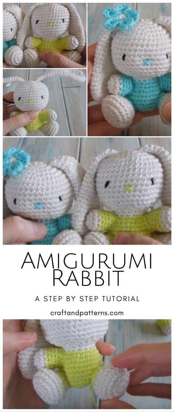 Amigurumi Bunny Doll Pattern | 1335x564
