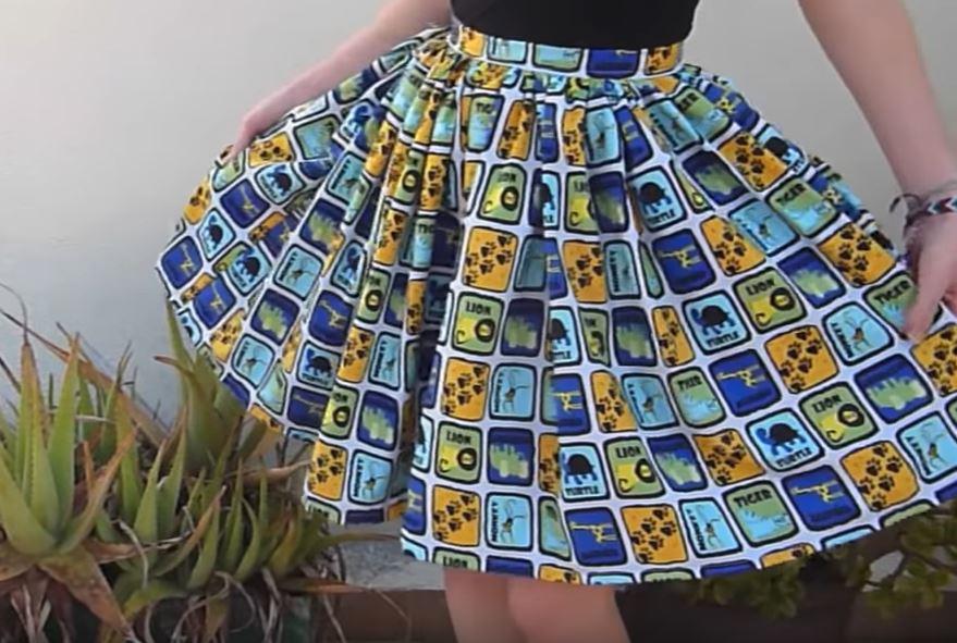 How to Make a Gathered Skirt