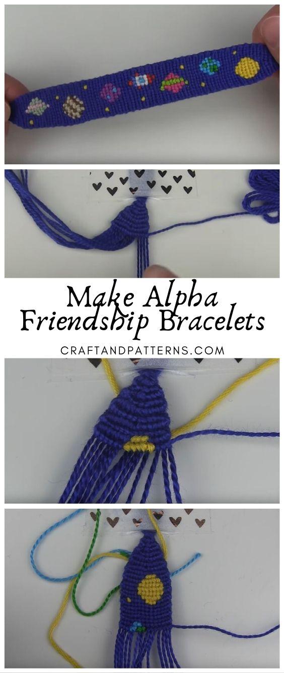 Alpha Friendship Bracelets