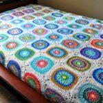 Circle In Square Blanket