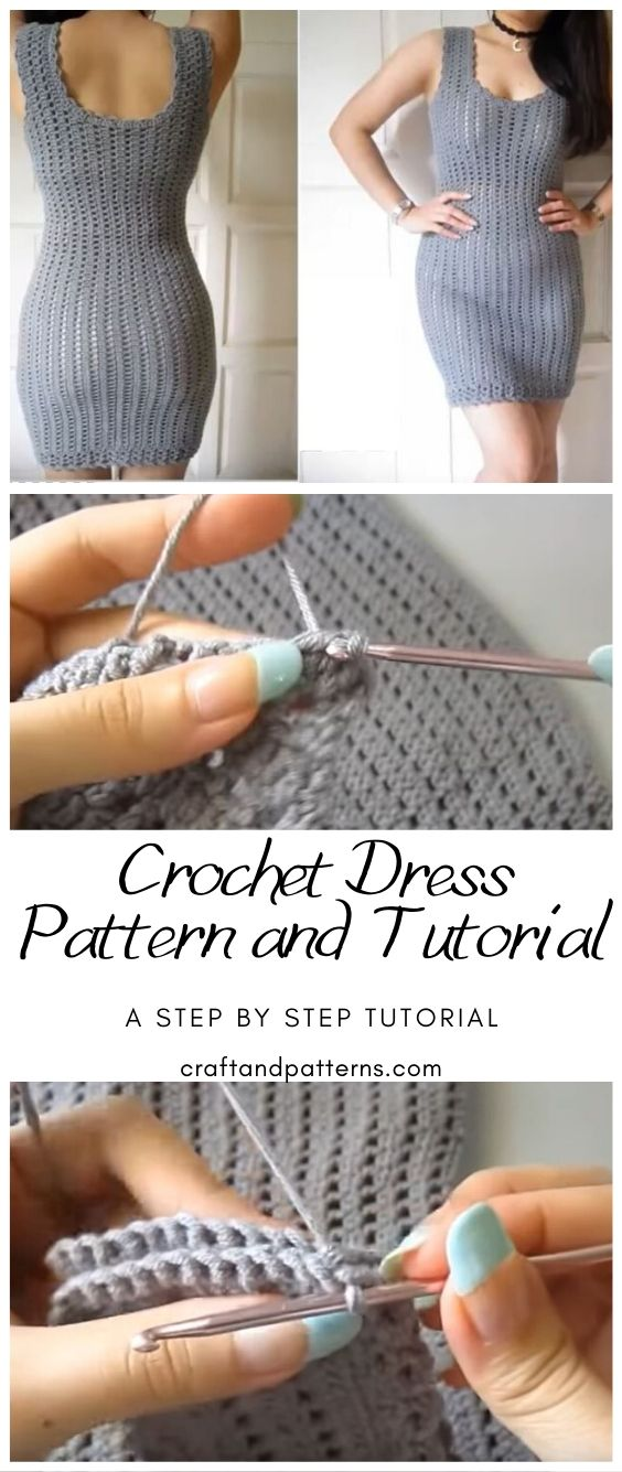 Crochet Bodycon Dress