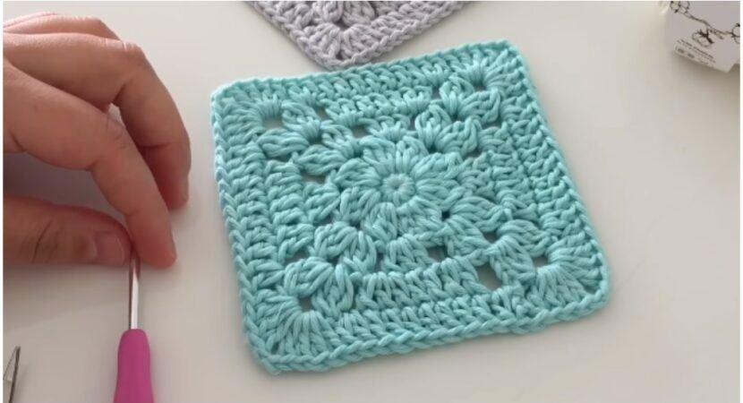 Crochet Easy Granny Square