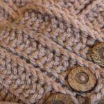 Crochet Knit Stitch Scarf Cowl