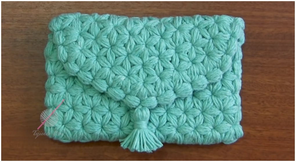 Crochet Jasmine Stitch Purse