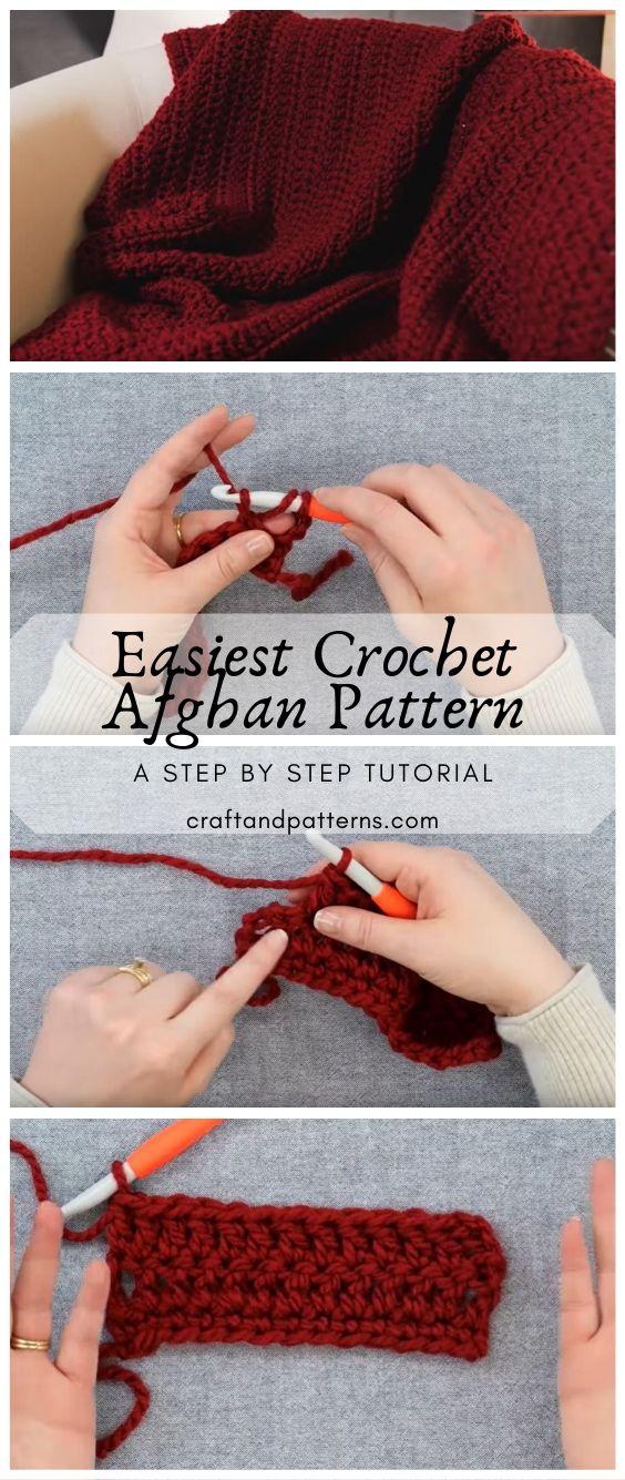Easiest Crochet Afghan