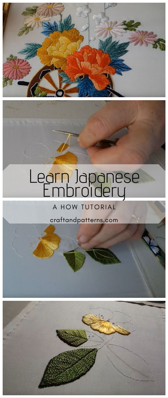 Learn Japanese Embroidery